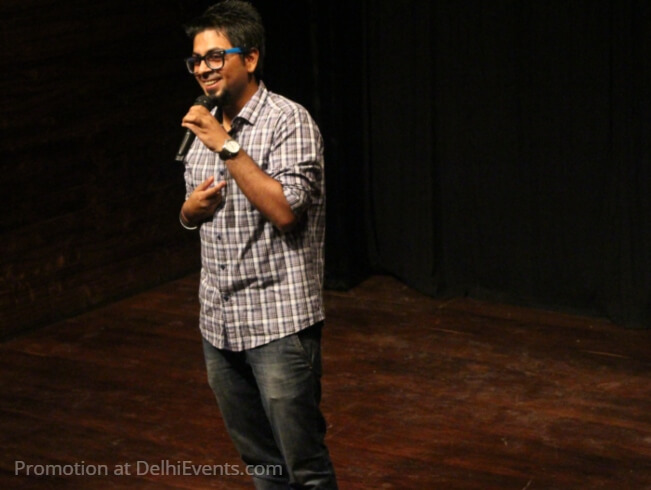 Comedian Abhijit Ganguly