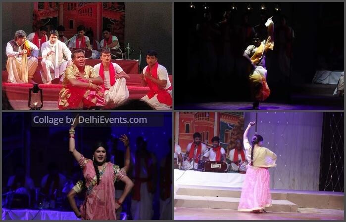 Cyclorama Ratan Verma Netua Hindi Play Stills