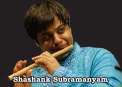 Flutist Shashank Subramanyam