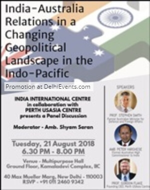 India Australia Relations Changing Geopolitical Landscape Indo Pacific Talk Creative