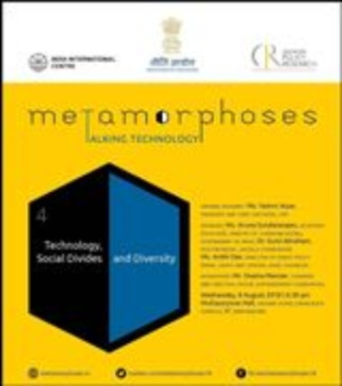 Metamorphoses Talking Technology Niti Aayog Centre Policy Research Creative