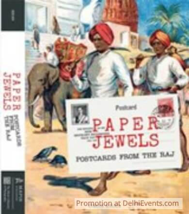 Paper Jewels Postcards Raj Omar Khan Book Cover