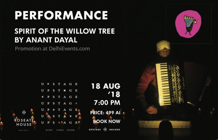 Spirit willow tree Play Anant Dayal Roseate House Creative