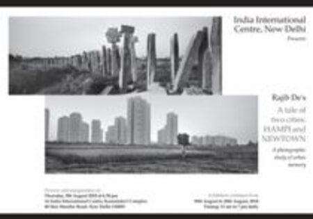 Tale Two Cities Hampi Newtown solo show photographs Rajib De Exhibition Creative