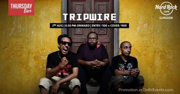 Thursday Live ft Tripwire Hard Rock Cafe Gurugram Creative