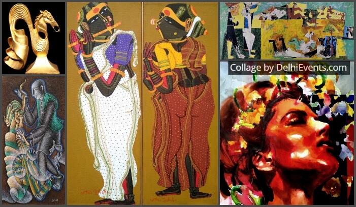 Art Pilgrim Retelling Stories group show paintings sculptures Exhibition Artworks