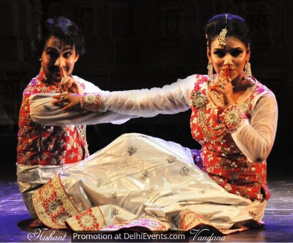 Kathak Dancers Nishant Vandana