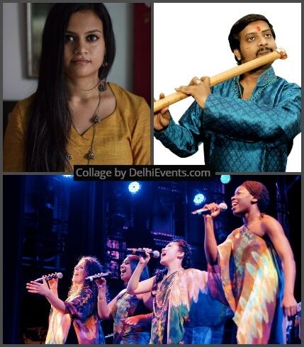 Musicians : Atul Shankar, Pavithra Chair and Berklee College