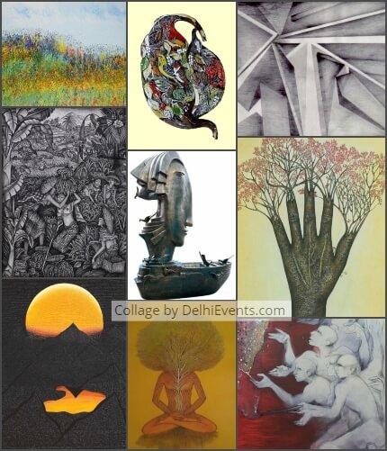 NDMC Triumph Masterworks National Pride group art Show Exhibition Artworks