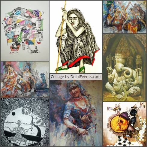 NDMC Triumph Masterworks National Pride group art Show Exhibition Artworks