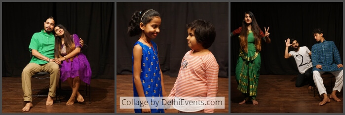 Playtime English Plays stories Gopal Sharman Akshara Theatre Stills
