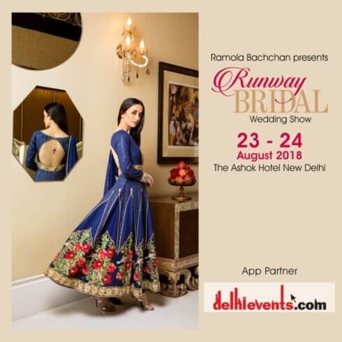 Ramola Bachchan Runway Bridal 2018 Wedding Show Hotel Ashok Creative