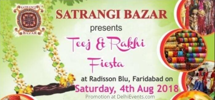 Satrangi Bazar Teej Rakhi Fiesta Radisson Blu Faridabad Creative