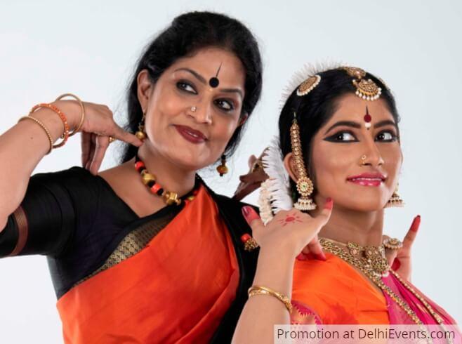 Bharatanatyam Dancers Sowmya Laxmi disciple Geeta Chandran