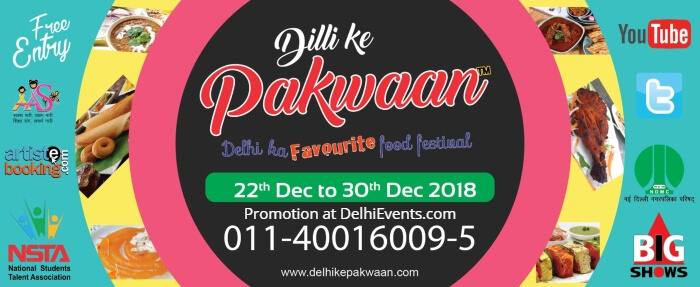 7th Dilli Ke Pakwaan Food Festival Creative