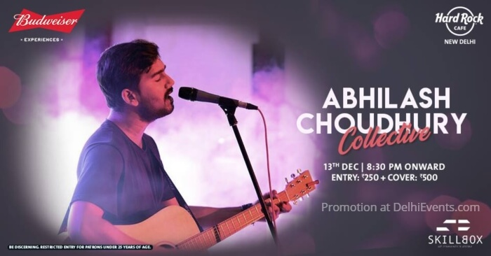 Abhilash Choudhury Collective Hard Rock Cafe Creative