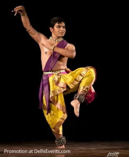 Bharatanatyam Dancer Himanshu Srivastava