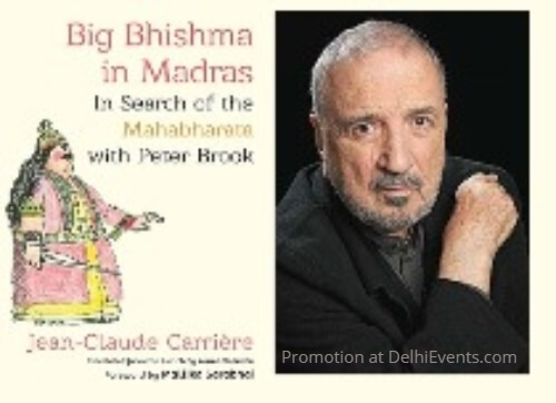 Big Bhishma Madras Search Mahabharata Peter Brook Jean Claude Carriere Book Cover