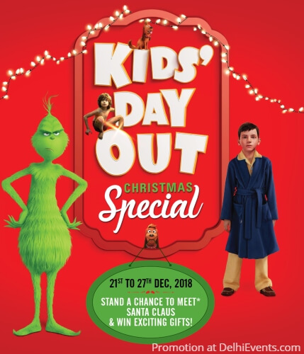 Kids Day out Film Festival Christmas Special PVR Cinemas Creative