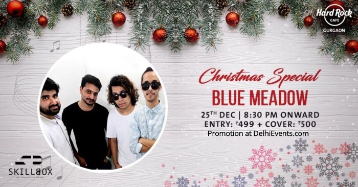 Christmas Special feat. Blue Meadow Hard Rock Cafe Gurugram Creative