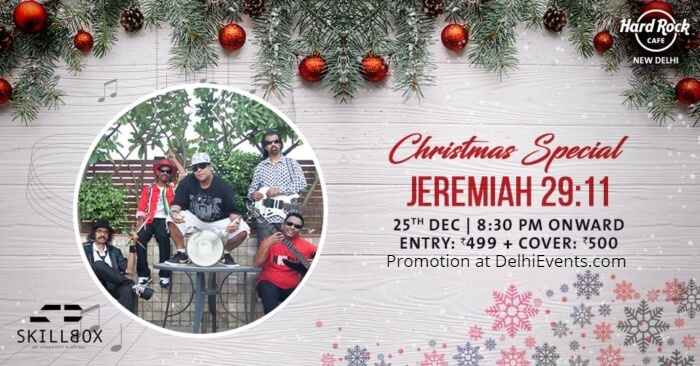 Christmas Special feat Jeremiah 29 11 Hard Rock Cafe Creative
