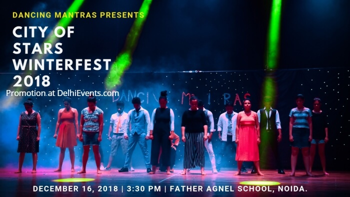 Dancing Mantras City Stars Winterfest 2018 Father Agnel School Creative