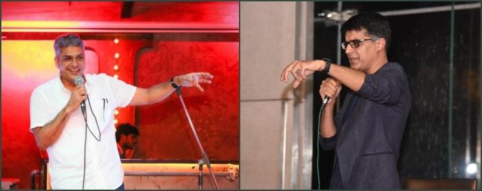 Comedians Manish Tyagi Anshu Mor