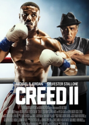 Creed 2 sports drama English Michael Jordan Sylvester Stallone Poster