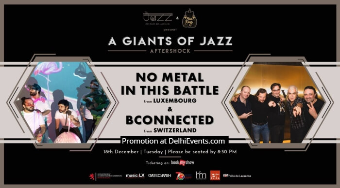 Giants Jazz Aftershock No Metal Battle Piano Man Jazz Club Creative