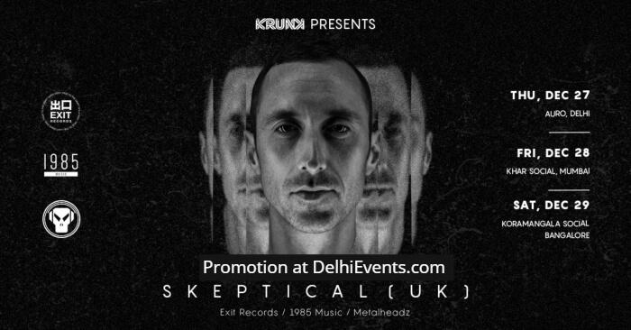 Krunk Skeptical UK India Tour 2018 Auro Kitchen Bar Creative