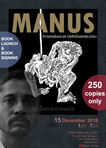 Book Launch Manus original drawings Soumen Bhowmick Creative