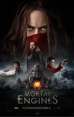 Mortal Engines Sci-Fi Movie Poster