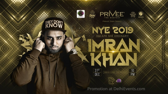 NYE 2019 Imran Khan Privee Creative
