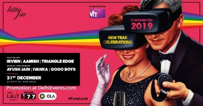 New Year Eve 2019 Kitty Su Creative