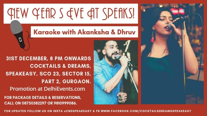 New Years Eve Karaoke Akanksha Dhruv Speakeasy Creative
