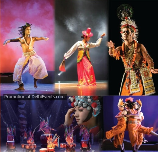 Opening Ceremony 12th Delhi International Arts Festival DIAF Artists