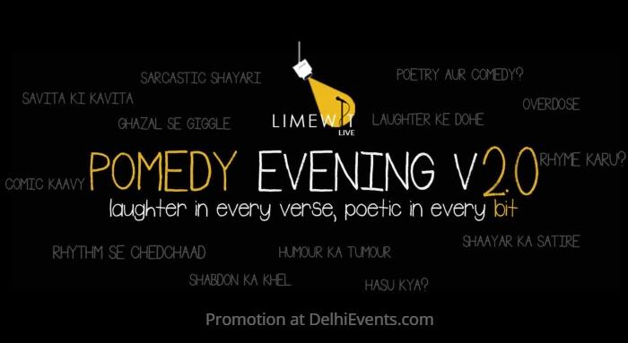 Pomedy Evening Hinglish LIMEWIT Akshara Theate Creative