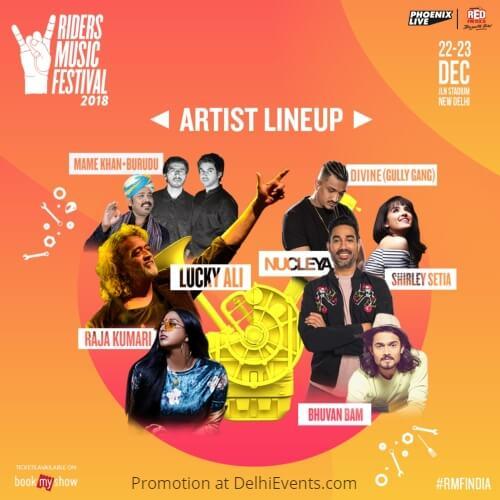 Riders Music Festival RMF Jawaharlal Nehru Stadium Creative