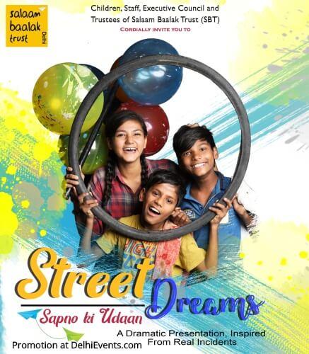 Salaam Baalak Trust SBT Street Dreams Hindi Play LTG Creative