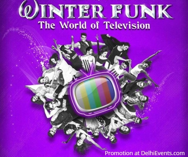 Shiamak Winter Funk Show 2018 World Television Sirifort Creative