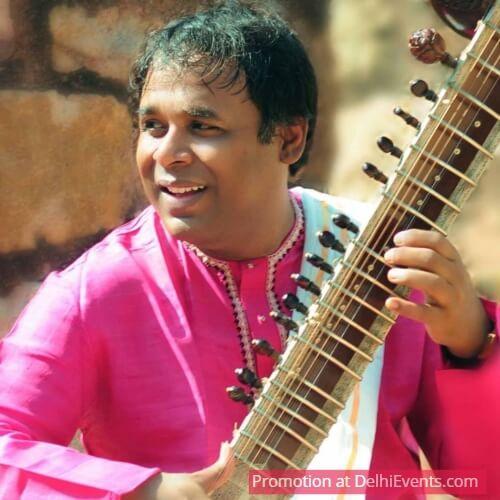 Sitarist Pt. Gaurav Mazumdar
