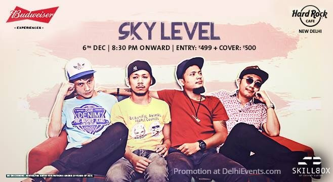 Sky Level Band Hard Rock Cafe Creative