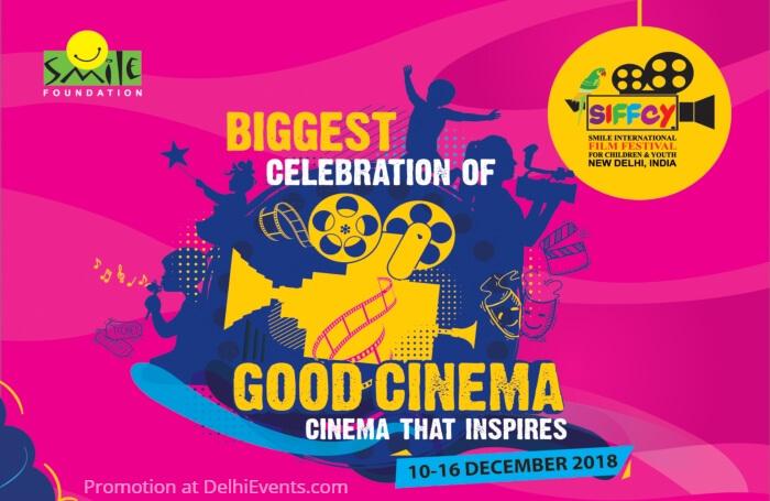Smile International Film Festival Children Youth Sirifort Auditorium Creative