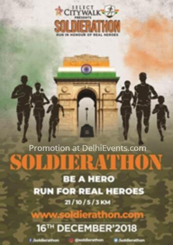 Run Real Heroes 2nd edition Soldierathon Marathon Jawaharlal Nehru Stadium Creative