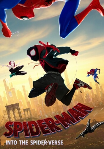 Spider Man Verse Animation Movie Poster