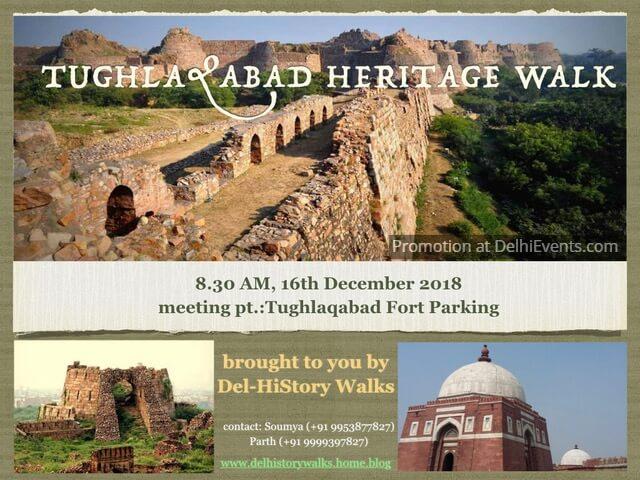 Walk Tughlakabad Fort Creative