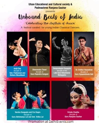 Unbound Beats India Celebration rhythm Dance Triveni Kala Sangam Creative
