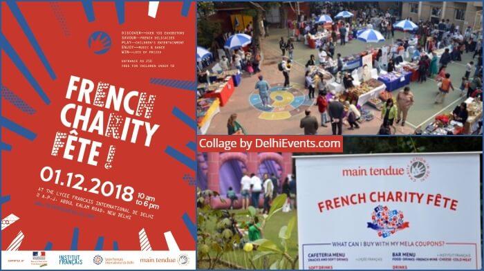 French Charity Fete 2018 Photos Lycee Français International Delhi