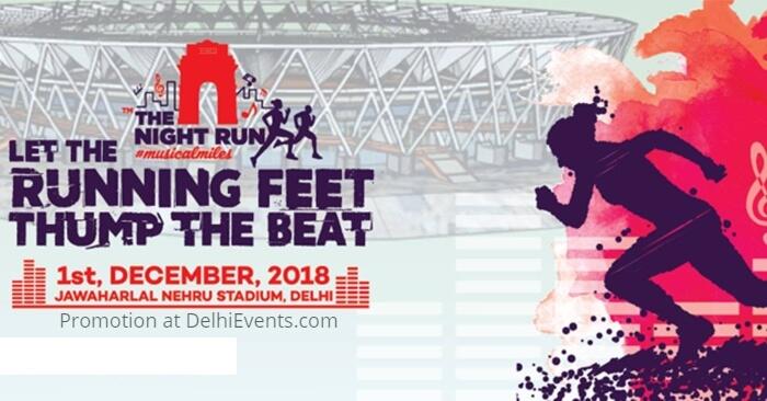 Night Run Jawaharlal Nehru Stadium Creative