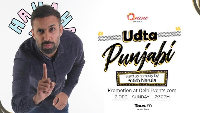 Orane Udta Punjabi Hinglish standup Pritish Narula Taksim Creative